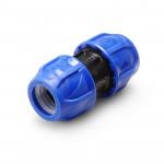Poelsan Муфта компрессионная для труб ПНД пластиковая