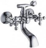 Смеситель для ванны и душа L3019 (короткий излив, керамические кран-буксы) Ledeme