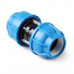 Unio Муфта компрессионная для труб ПНД пластиковая