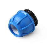 Unio Заглушка компрессионная для труб ПНД пластиковая