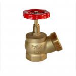 Вентиль (клапан) латунный пожарный КПЛ угловой 15Б3р ВР-НР