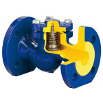 Обратный клапан ф/ф Ду 100 Ру 16 Tmax=300°С, чугунный, тип V287, Zetkama