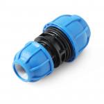 Unio Муфта переходная компрессионная для труб ПНД пластиковая