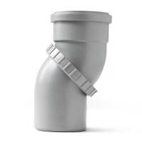 Отвод ПП поворотный (универсальный) Pro Aqua Comfort