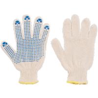 Перчатки вязаные ПВХ
