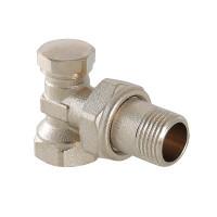Клапан настроечный угловой для радиатора, ВР-НР VT.019