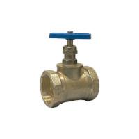 Вентиль (клапан) латунный пожарный КПЛ прямой 15Б3р ВР-ВР