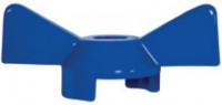 "Ручка-бабочка для крана VALTEC BASE 1/2"" синяя"