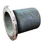 Патрубок ПФГ (фланец-гладкий конец) сталь