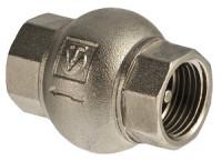 Клапан обратный с латунным золотником, пружинный, ВР-ВР VT.151