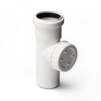 Ревизия для малошумной канализации Polytron Stilte (белая)