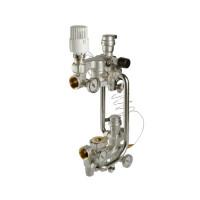 Насосно-смесительный узел с термоголовкой без насоса L=180мм VT.COMBI.0.180
