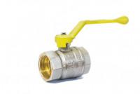 Кран шаровый латунный для газа GAS LD Pride ВР-ВР, ручка - рычаг
