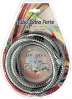 """Шланг для душа MELODIA 1/2""""х1/2"""" 1,5 м двойной зажим Tubo Extra Forte (в блистере)"""