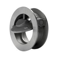 Клапан обратный нержавеющий одностворчатый AISI 304/316