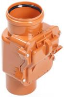 Клапан обратный (ревизия) ПВХ для наружной канализации