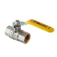 Кран шаровый газовый (стальная рукоятка) ВР-ВР VT.271