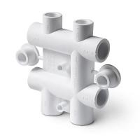 Распределительный блок для систем водоснабжения полипропиленовый 25-20 Pro Aqua PP-R