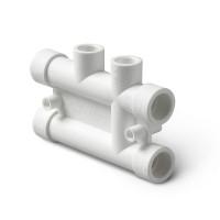 Распределительный блок для систем отопления полипропиленовый 25-20 Pro Aqua PP-R